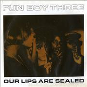 Click here for more info about 'Fun Boy Three - Our Lips Are Sealed'