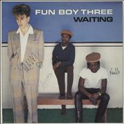 Click here for more info about 'Fun Boy Three - Waiting - Autographed'