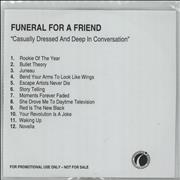 Click here for more info about 'Funeral For A Friend - Casually Dressed And Deep In Conversation'