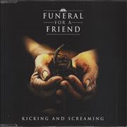 Click here for more info about 'Funeral For A Friend - Kicking And Screaming'
