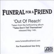 Click here for more info about 'Funeral For A Friend - Out Of Reach'