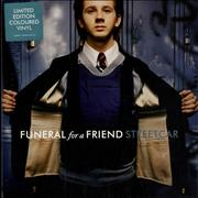 Click here for more info about 'Funeral For A Friend - Streetcar - Blue Vinyl'
