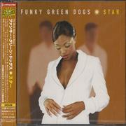 Click here for more info about 'Funky Green Dogs - Star'