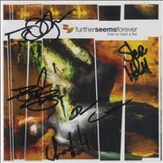 Click here for more info about 'Further Seems Forever - How To Start A Fire - Autographed'