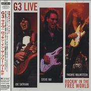 Click here for more info about 'G3 - Live: Rockin' In The Free World'