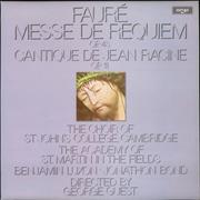 Click here for more info about 'Gabriel Fauré - Messe de Requiem, Op. 48 & Cantique de Jean Racine, Op. 11'