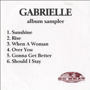 Click here for more info about 'Gabrielle - Album Sampler'