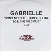 Click here for more info about 'Gabrielle - Don't Need The Sun To Shine - 3'28
