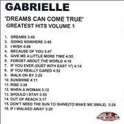 Click here for more info about 'Gabrielle - Greatest Hits: Dreams Can Come True'
