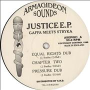 Click here for more info about 'Gaffa Meets Stryka - Justice E.P.'