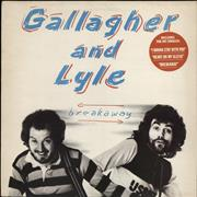 Click here for more info about 'Gallagher And Lyle - Breakaway + insert - Hype Stickered Sleeve'