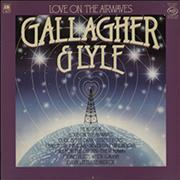 Click here for more info about 'Gallagher And Lyle - Love On The Airwaves'