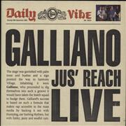 Click here for more info about 'Galliano - Jus' Reach Live'