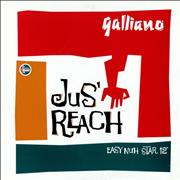 Click here for more info about 'Galliano - Jus' Reach'