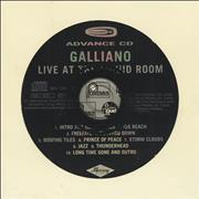Click here for more info about 'Galliano - Live At The Liquid Room'
