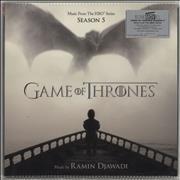 Click here for more info about 'Game Of Thrones - Game Of Thrones [Season 5] - 180gm Blue Vinyl - Sealed'