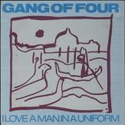 Click here for more info about 'Gang Of Four - I Love A Man In A Uniform'