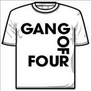 Click here for more info about 'Gang Of Four - Logo T-Shirt - White [M]'