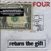 Click here for more info about 'Gang Of Four - Return The Gift - Sealed With 1 Dollar Note'