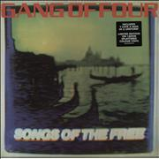 Click here for more info about 'Gang Of Four - Songs Of The Free - 180 gram Coloured Vinyl'