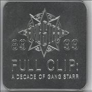 Click here for more info about 'Full Clip: A Decade Of Gang Starr - Square Tin'