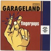 Click here for more info about 'Garageland - Fingerpops - Red vinyl'