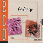 Garbage 2CD Garbage France 2-CD album set