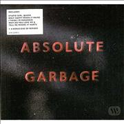 Garbage Absolute Garbage UK 2-CD album set