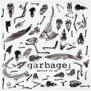 """Garbage Battle In Me - RSD - Red vinyl UK 7"""" vinyl"""