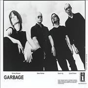 Garbage Beautiful Garbage USA press pack Promo