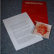 Garbage BeautifulGarbage UK press kit Promo