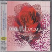 Garbage Beautifulgarbage Japan CD album Promo
