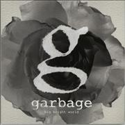 Garbage Big Bright World UK CD single Promo