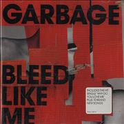 Garbage Bleed Like Me UK CD album