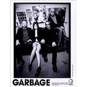 Garbage Bleed Like Me USA press pack Promo