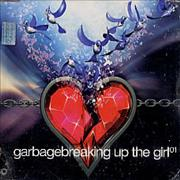 Garbage Breaking Up The Girl Mexico CD single