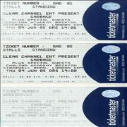 Click here for more info about 'Concert Ticket Stubs'