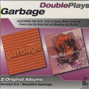 Garbage Double Plays Australia 2-CD album set