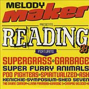 Click here for more info about 'The Reading Festival - Reading 98'