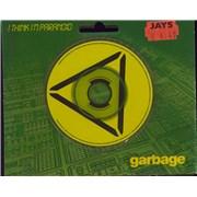 """Garbage I Think I'm Paranoid UK 3"""" CD single"""