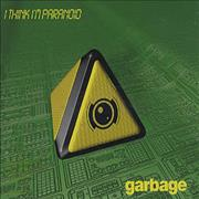 Garbage I Think I'm Paranoid UK 2-CD single set
