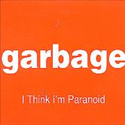 Garbage I Think I'm Paranoid Brazil CD single Promo