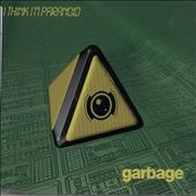 Garbage I Think I'm Paranoid UK CD single