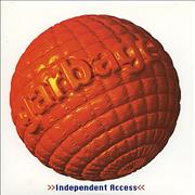 Garbage Independent Access USA CD single Promo