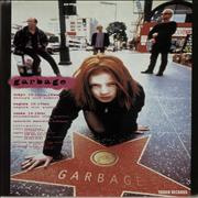 Garbage Live In Japan 1995 - Quantity of Five Handbills Japan handbill Promo