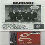 Garbage Not Your Kind Of People + Press Release Japan CD album Promo