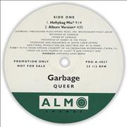 "Garbage Queer USA 12"" vinyl Promo"
