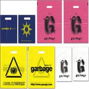 Garbage Set Of 4 Promotional Carrier Bags UK memorabilia Promo