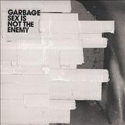 Click here for more info about 'Garbage - Sex Is Not The Enemy - White vinyl - White Tape'
