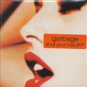 Garbage Shut Your Mouth - Part 1 UK CD single